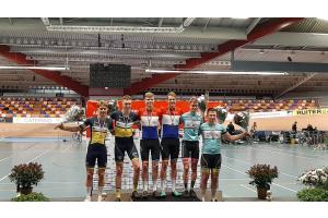 Noël Luijten Nederlands Kampioen Baanwielrennen
