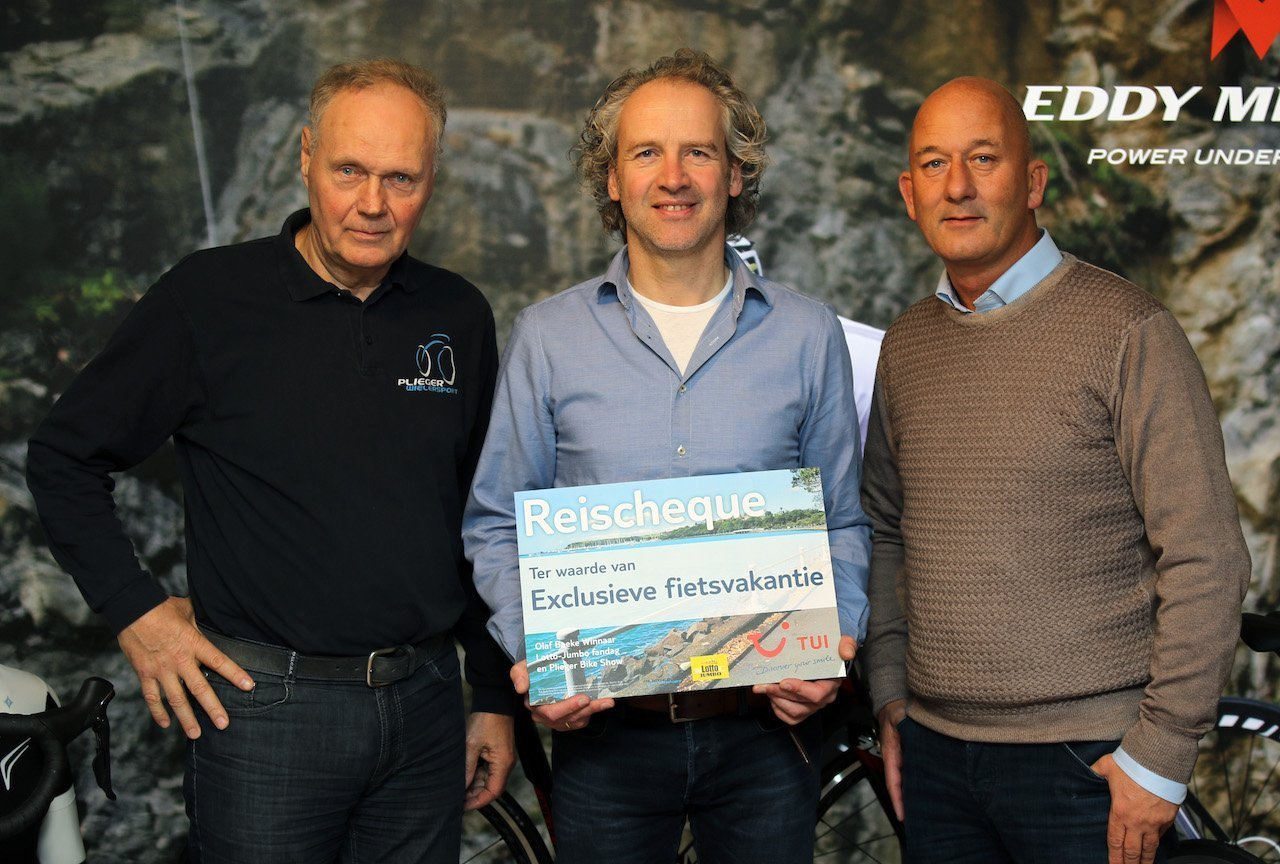 Winnaar TUI exlusieve fietsvakantie