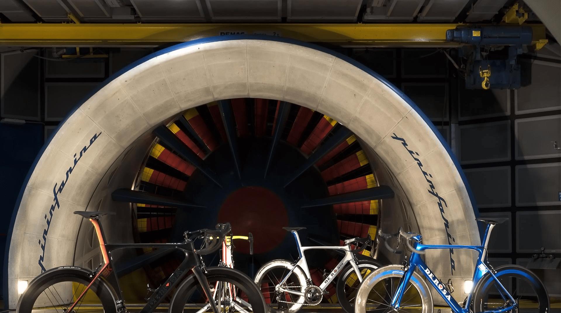 De Rosa windtunnel