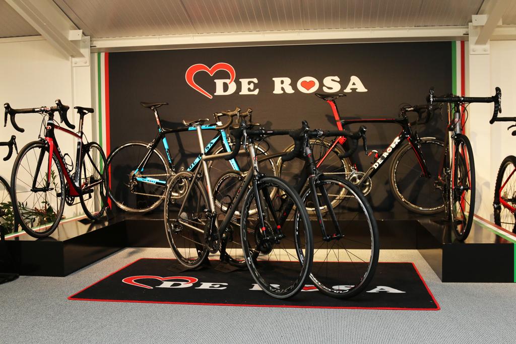 De Rosa winkel
