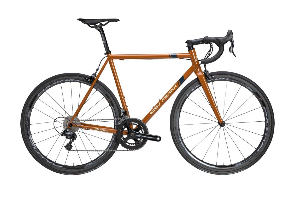 Eddy Merckx Strada stalen fiets